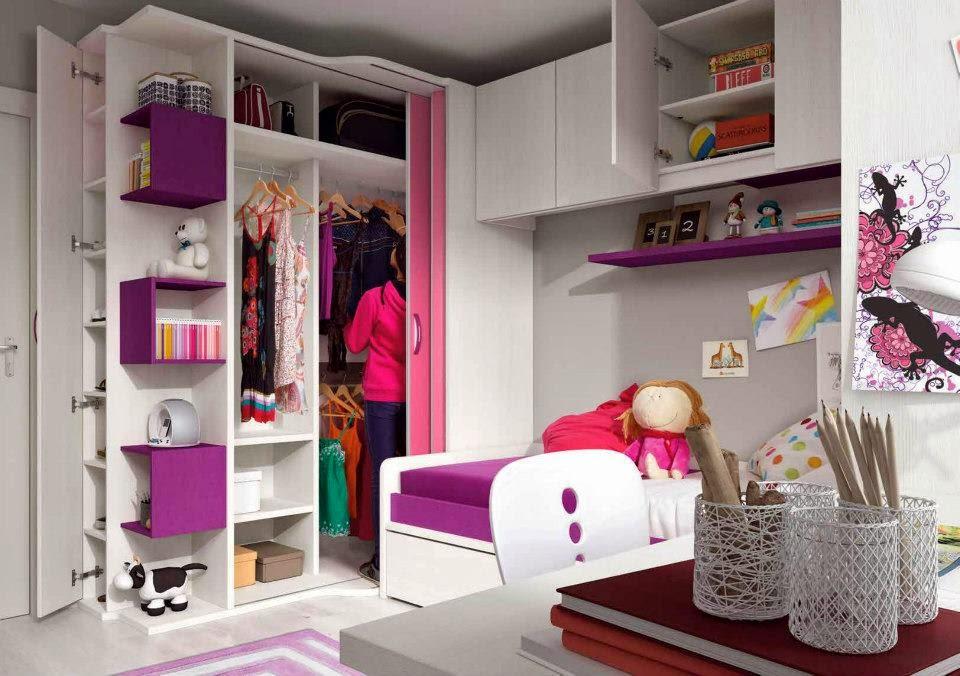 interior armario con y cajones