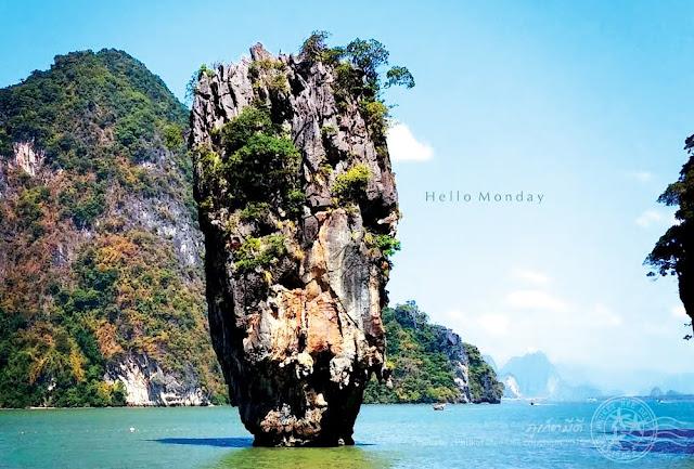 เขาตะปู, ภูเก็ต, ภูเก็ตมีดี, พังงา, Jamesbond Island, Koh Tapu, Pang Nga, Phuket, Thailand