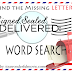 "A ""Signed, Sealed, Delivered"" Challenge - SEARCH FOR THE MISSING LETTERS!!! #POstables"