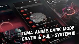 TEMA ANIME DARK KANEKI / TOKYO GHOUL  TEMBUS AKAR DAN PERMANENT | Oppo dan Realme