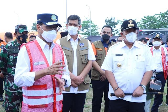 Menteri Perhubungan dan Kepala BNPB Apresiasi Gubernur Lampung dan Satgas Khusus dalam Penanganan Covid-19