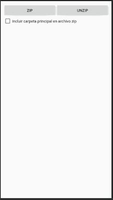 Como hacer Zip o UnZip a un archivo en Android