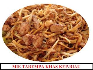 Mie Tarempa Khas Kepulauan Riau