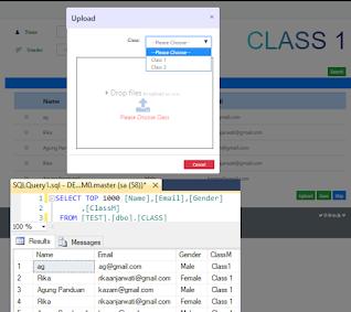 Excel-ASP NET-SQLServer