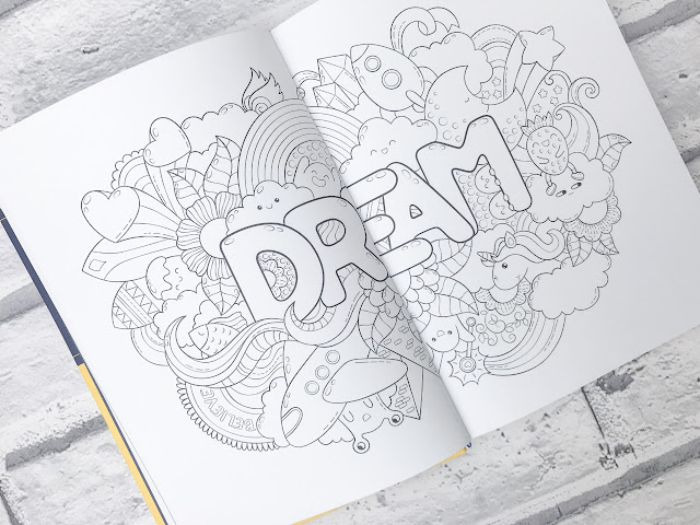 Illustration surrounding the word dream