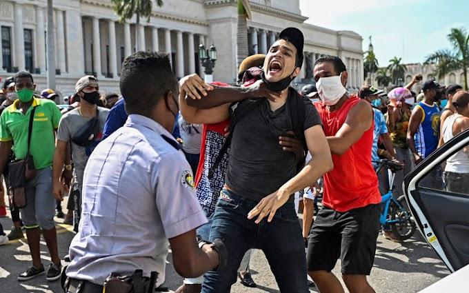 Az EU aggodalmát fejezte ki a kubai megmozdulások elfojtása, valamint a tüntetők és újságírók letartóztatása miatt