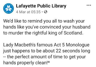 lady macbeth 22 sec hand wash