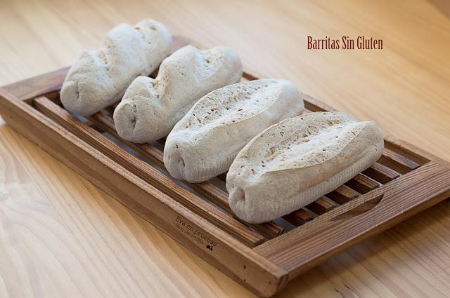 Barritas de pan #SinGluten