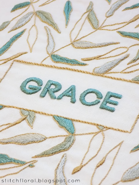 Hand embroidery lettering ideas