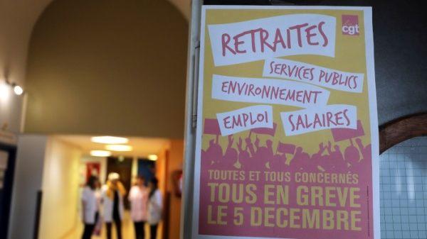 Amplia huelga contra reforma de pensiones paralizará a Francia
