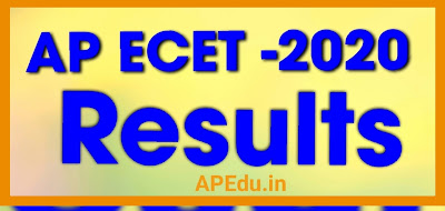 AP ECET -2020: Results Announced