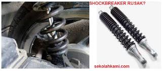 ciri ciri shockbreaker mobil rusak
