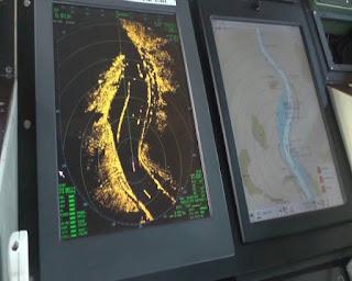 Radar- und integrierte Navigationssysteme der Binnenschifffahrt