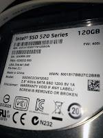 インテル®520シリーズ(SSDSC2CW120A3)