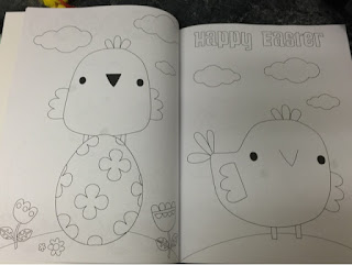 Asda colouring book