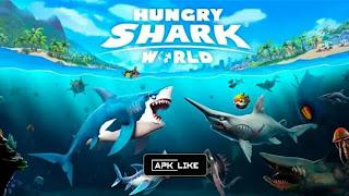 Hungry Shark World MOD APK [UNLIMITED MONEY - UNLOCKED PEARLS] Latest (V4.2.0)