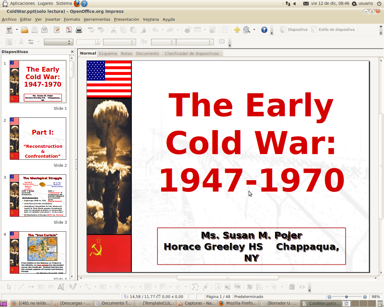 passion4socialscience: THE COLD WAR (THE WORLD AFTER WWII)