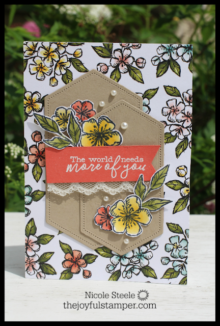 Stampin' Up!'s Free As A Bird and Bird Ballad suite notecard set | Nicole Steele The Joyful Stamper