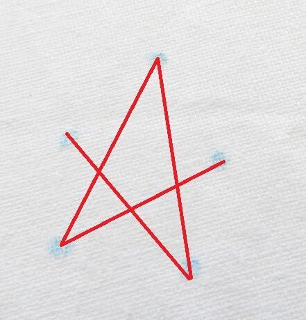 Hướng dẫn thêu ngôi sao 5 cánh - Hình 4