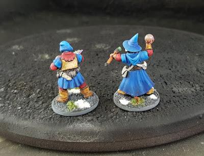 Frostgrave Plastic Wizard Conversion