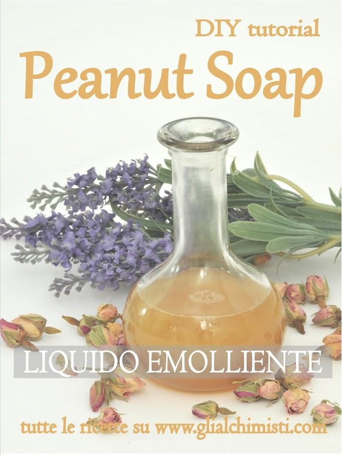 PEANUT SOAP - SAPONE LIQUIDO AL LIMONE PER VISO MANI E CORPO