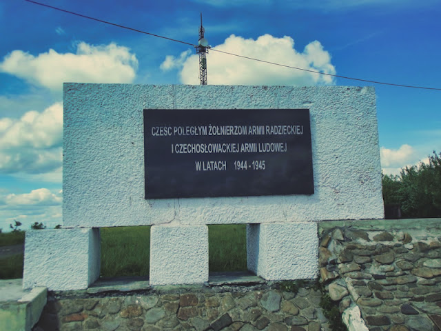 Pomnik na Górze Franków - Górze 534