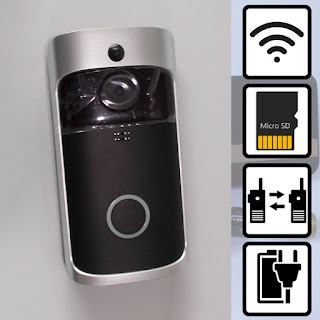 wifi wireless video doorbell 1