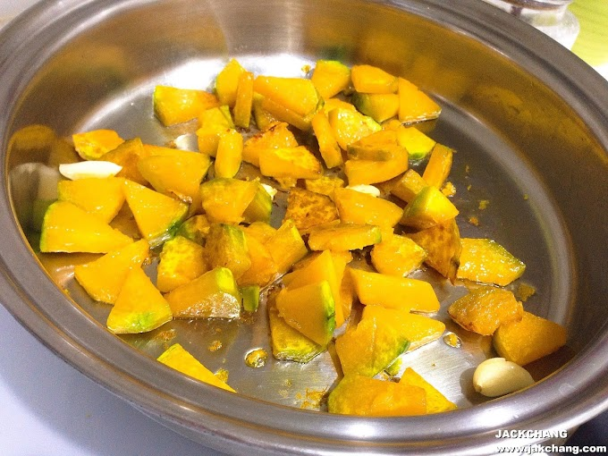 【傑克●不專業料理】醬炒南瓜