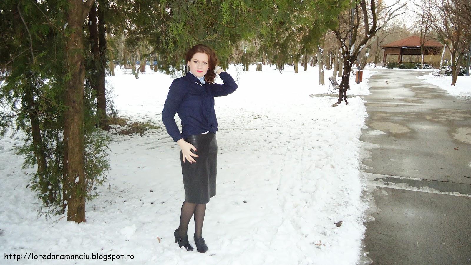 tinuta eleganta de iarna