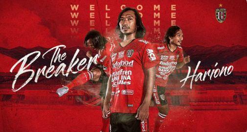 Hariono Resmi Direkrut Bali United FC