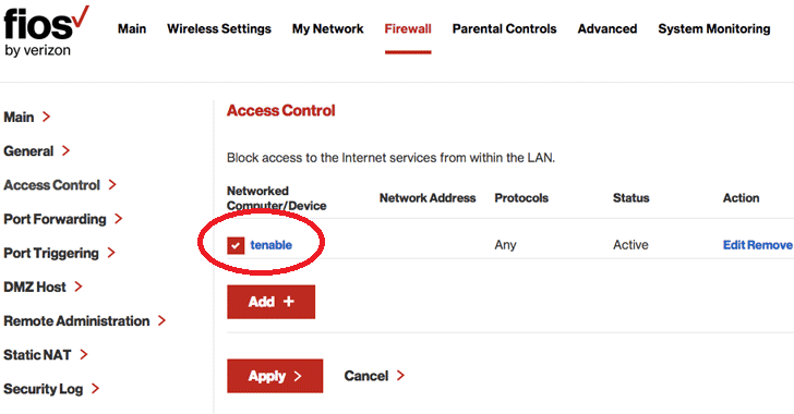 Researcher Reveals Multiple Flaws in Verizon Fios Routers