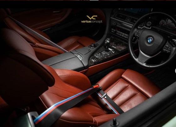 Modifikasi Belt mobil BMW
