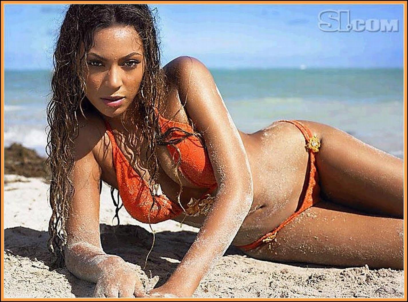 Beyonce Knowles Bikini Pics 37