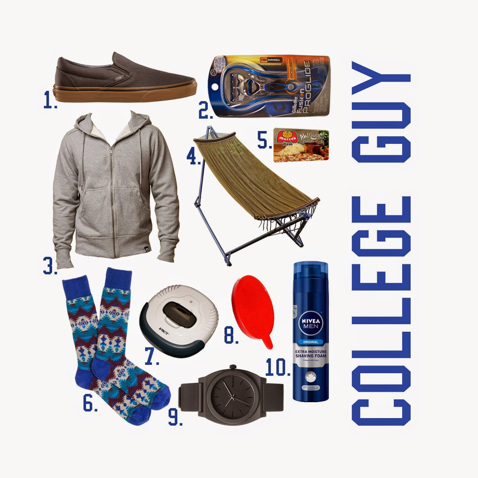 Gift Guide College Guy Gifts For Guys