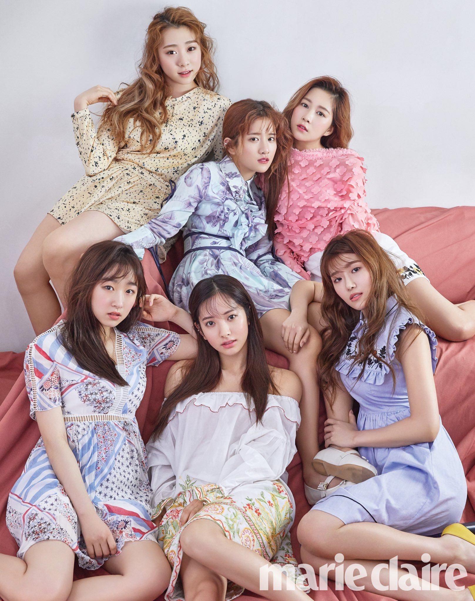 WJSN - Marie Claire Korea 2017-04 - 5p