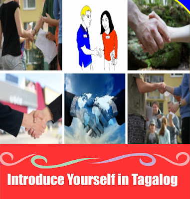 How To Introduce Yourself in Tagalog