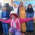 Badut Andika Jerman, Hibur Anak- Anak Yatim di Milangkala APG Tasikmalaya ke-1