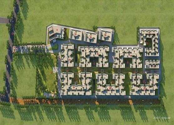 Prestige Courtyards Master Plan