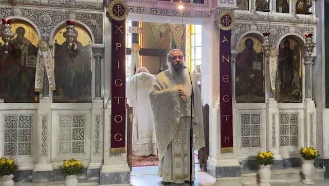 Κήρυγμα π. Γεωργίου Σχοινά στην αγρυπνία της Αποδόσεως του Πάσχα