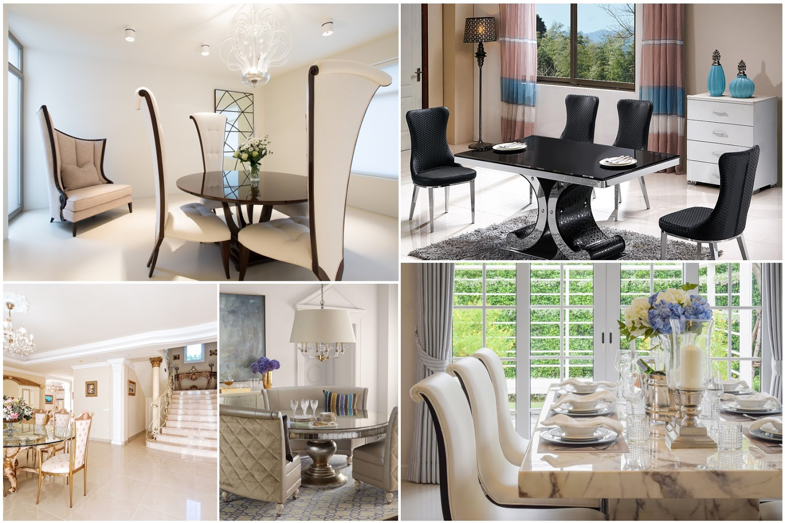 20 Classic And Modern Dining Room Decorating Ideas