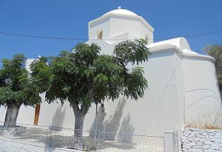 ναός του αγίου Προκοπίου στη Βουρβουριά της Νάξου