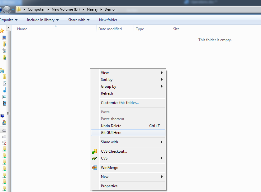 INTEGRATIONS: Basic Git Operations With GIT GUI for Windows User