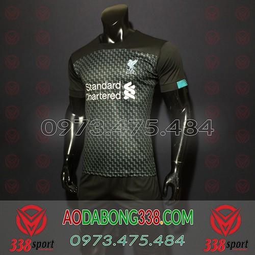 Áo Liverpool Đen 2020 Training 10