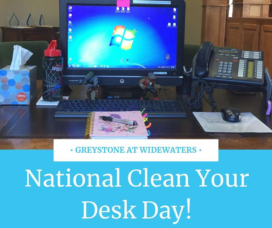 National Clean Your Desk Day Wishes Photos