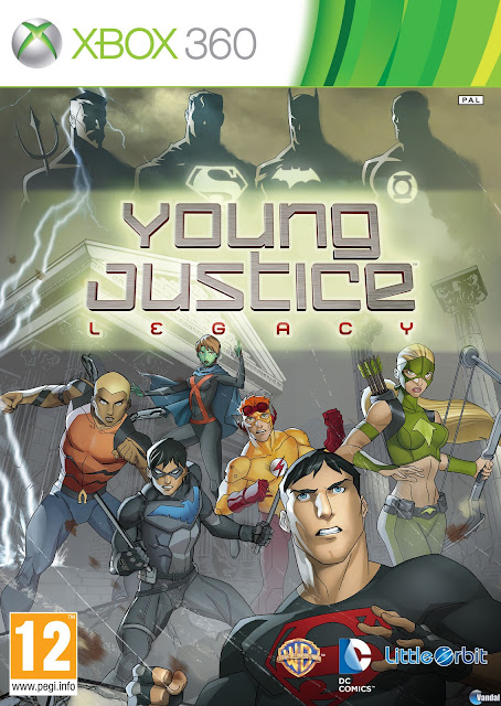 Young Justice Legacy - Xbox 360 - Multi5 - Portada