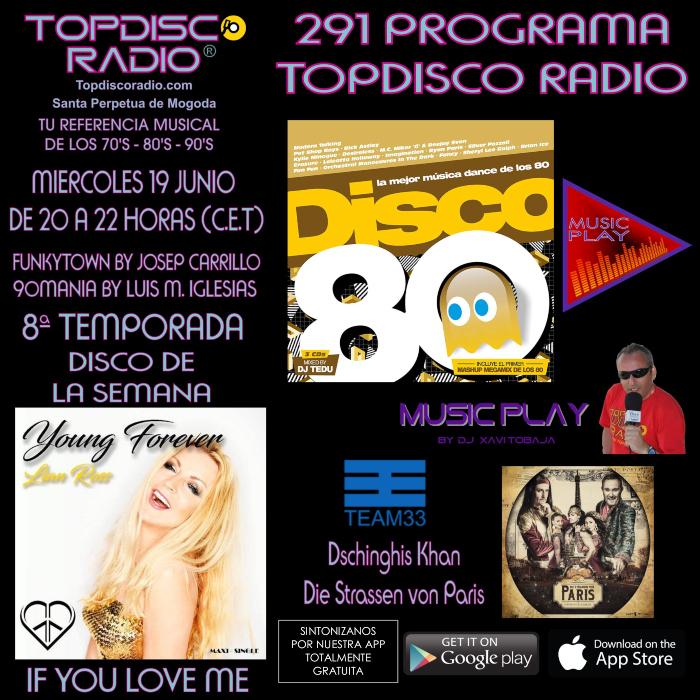 291 Programa Topdisco Radio