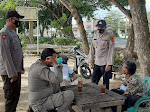 Patroli Dialogis Personil Polsek Langsa Timur, Himbau Warga Untuk Menggunakan Masker