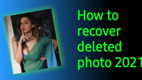 Mobile SE Delete Photo Ko Kaise Recover Kare । How to recover deleted photo 2021