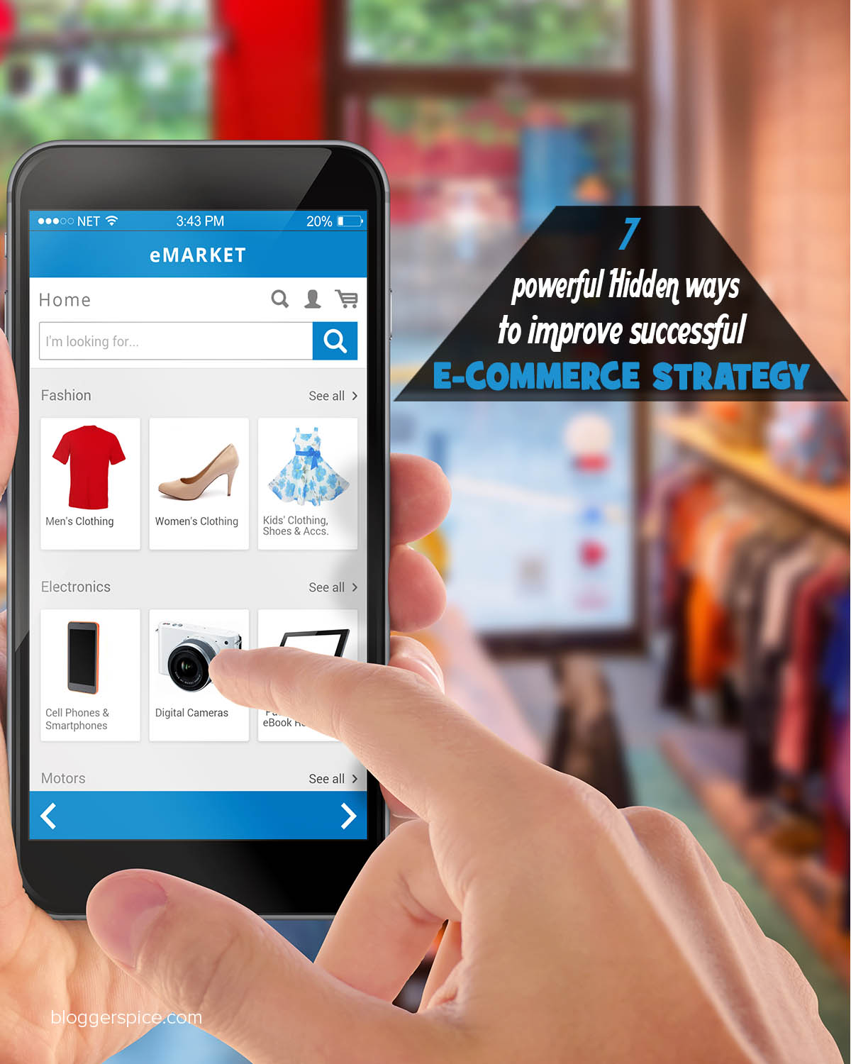 7 powerful Hidden ways to improve successful E-commerce Strategy