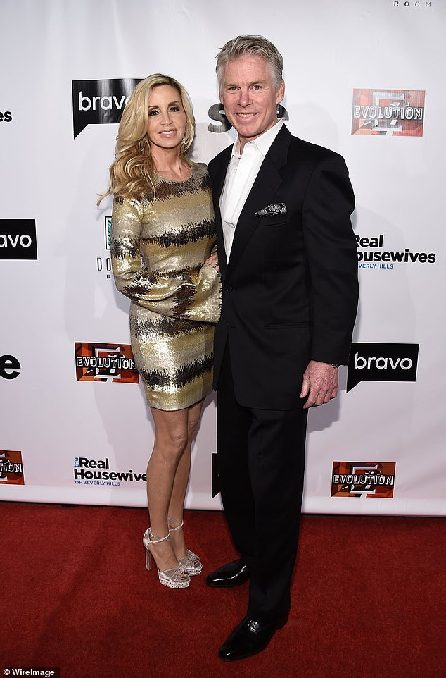 Camille Grammer marries David C. Meyer at a private beach club in Hawaii